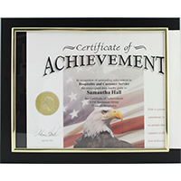 Custom/Personalized Certificate Plaque Holders